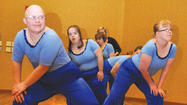 Sporting blue outfits complete with sequins, dancers from the Dance Exploration class at the Aberdeen Recreation and Cultural Center took the spotlight Monday.