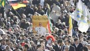 Thousands gather for Pope Francis' inauguration