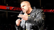 Brock Lesnar and Triple H officially sealed the deal on Raw and will meet at Wrestlemania. The two stipulations are that it will be No Holds Barred (similar to their match at Summerslam 2012) and that Triple H's career will be on the line.
