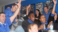 Photo Gallery: UK Hoops team watches NCAA Selection Show