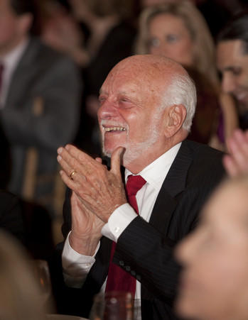 Harold Prince at the Eugene O'Neill Theater Center gala in 2010