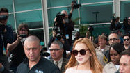 Reviews are in on Lindsay Lohan's sheer court outfit