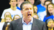"When University of Kentucky athletics officials told coach John Calipari a few weeks ago that if his team did not make the NCAA Tournament UK could not host a NIT game, the coach said he ""absolutely"" still wanted to play."