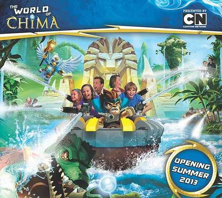 Legoland Florida plans to expand in summer 2013 with the World of Chima, which will include a new water ride called The Quest for Chi.
