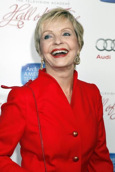 Actress Florence Henderson poses at the Academy of Television Arts & Sciences 22nd annual Hall of Fame gala in Beverly Hills, California March 11, 2013. REUTERS/Fred Prouser (UNITED STATES - Tags: ENTERTAINMENT) ORG XMIT: LAB11
