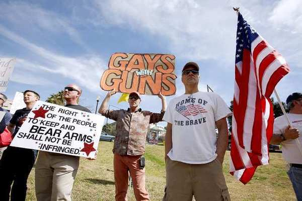 What might be the last Glendale Gun Show attracted a large crowd to the Glendale Civic Auditorium on March 2.