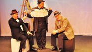 In Darien Arts Center Stage's adaptation of John Buchan's novel <em>The 39 Steps</em> (which Alfred Hitchcock made into a film in 1935), six actors will play over 100 roles, transforming what was once a serious melodrama into a light hearted and funny farce. If you've seen the film version you'll be rewarded with a handful of references. In the play, a bored bachelor goes out looking for trouble and ends up getting invited back to an exotic woman's home. But it's geared for all ages, so don't worry if you were planning on bringing the kids, it's all good. It closes this weekend, so catch it while you still can. <strong></strong>