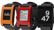 Pebble creator celebrates first smartwatch shipments