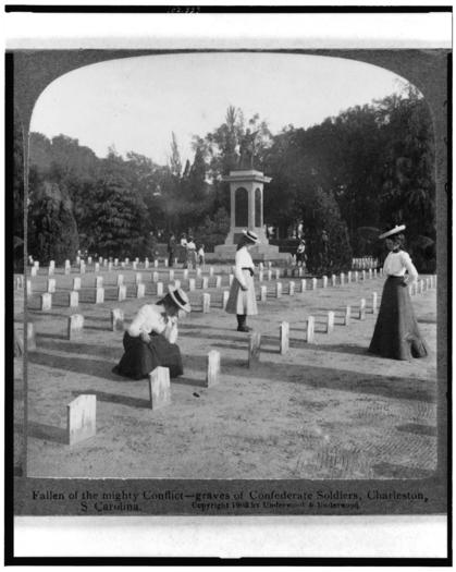 Graves of Confederate soldiers