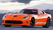 SRT to debut track-oriented Viper at New York Auto Show