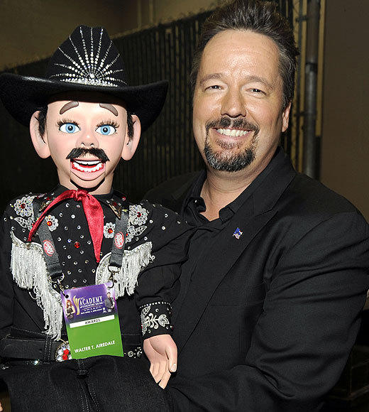 "<b>Terry Fator </b>(""America's Got Talent"" winner) <br><br> <b>Also:</b> <br><br> Screenwriter Randall Wallace<br> Heidi Mueller (""Passions"")<br> Samantha Steele (ESPN anchor)"
