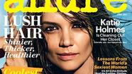 Katie Holmes' Allure April 2013 cover
