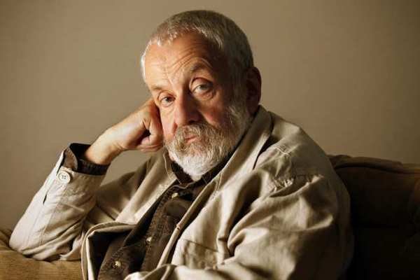 Director Mike Leigh in New York in 2010.