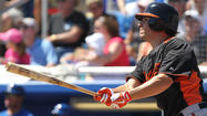 FORT MYERS, Fla -- Danny Valencia launched a solo homer in the ninth inning off Red Sox reliever Terry Doyle to give the Orioles an 8-7 win over Boston at JetBlue Park on Tuesday afternoon.
