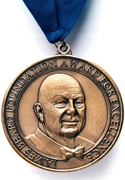 The 2013 James Beard Awards will be presented in May.