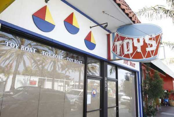 After trying to keep it afloat, the owners of iconic toy store Toy Boat Toy Boat Toy Boat were forced to close their last location in Corona Del Mar recently.