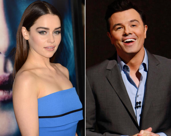 Emilia Clarke and Seth MacFarlane have reportedly broken up.