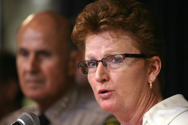 Former state prison official Terri McDonald will oversee Los Angeles County's jail system, the nation's largest.
