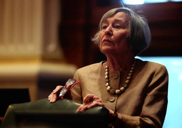 "House Democratic leader Barbara Flynn Currie said a bill lowering Illinois' compulsory school attendance age faces ""an uphill climb."""