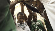 Seven straight road games representing the roughest part of Chicago State's Great Westward Ho of a schedule had taken the Cougars' men's basketball team from Oregon to Texas to Ohio to Las Vegas and, finally, New Jersey.