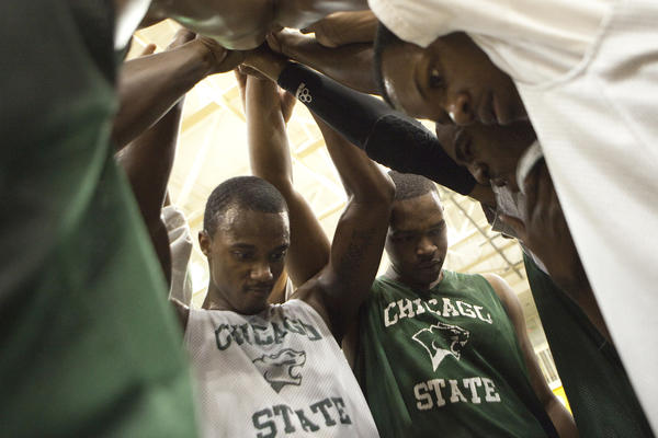 A Chicago State practice in 2011.