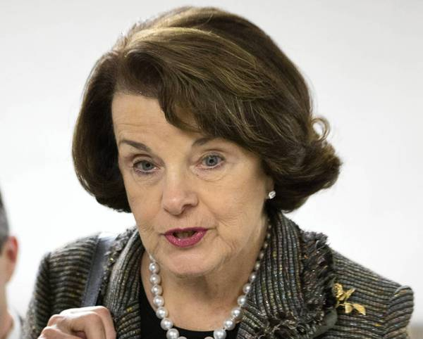 Sen. Dianne Feinstein (D-Calif.), shown speaking with reporters last month, says she will keep pushing for a new ban on assault weapons despite her latest defeat.