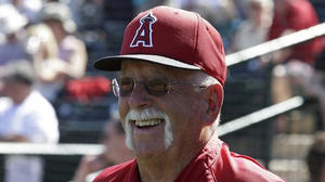 Bill Lachemann, 78, keeps Angels ahead of curve behind the plate