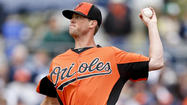 "Orioles left-hander Brian Matusz's five-inning, one-run outing on Tuesday against the <span class=""runtimeTopic"">Boston Red Sox</span> in Fort Myers continues to make this spring battle for the No. 5 rotation spot tight with less than two weeks to go in big league camp."