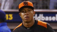<a>Orioles</a> top infield prospect Jonathan Schoop returned to Ed Smith Stadium on Wednesday after playing on the world's stage as part of an upstart Netherlands team that made it to the World Baseball Classic semifinals before losing to the eventual champions, the Dominican Republic.