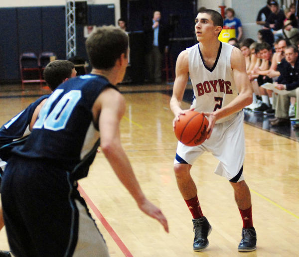 Boyne City sophomore Corey Redman was selected as Associated Press Class C All-State honorable mention by a panel of 10 Sportswriter from across the state Tuesday. Redman averaged 20 points, 7.5 rebounds, 2 assists and 1.5 steals a game this season for the Ramblers.