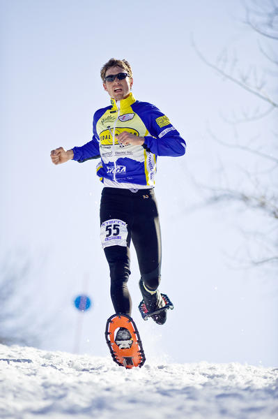 Josiah Middaugh of East Jordan captured his sixth national snowshoe championship in as many tries Saturday at the National Snowshoe Championships at Virginia Meissner Sno-Park in Bend, Ore. Middaugh completed the 10-kilometer race in a time of 47 minutes, eight seconds. Apart from this years title, Middaugh has won the national event in 2012, 2010, 2008, 2003 and 2002.