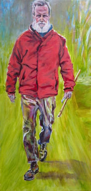 """Hampton's John Muir,"" by Blue Skies Gallery instructor Tisha Rose, won First Place."