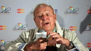 Arnold Palmer speaks at Bay Hill 2013