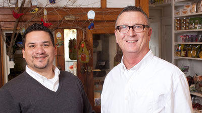"Steve Archuleta and Randy Neely are the proprietors of Ellicott City's ""New General Store."""