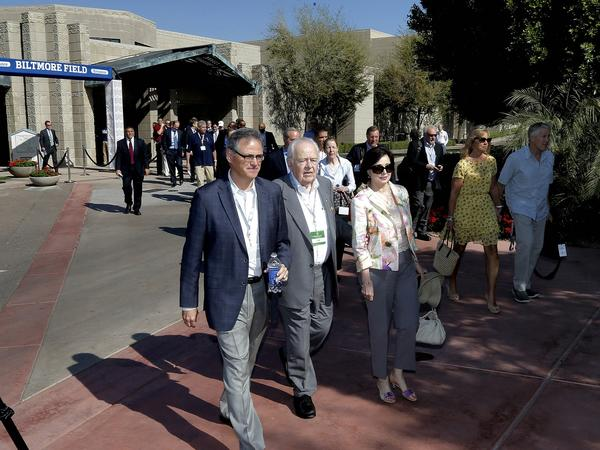 NFL owners, coaches and personnel arrive for the annual meetings Monday at the Arizona Biltmore in Phoenix.