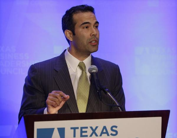 George P. Bush, a candidate for Texas land commissioner, will head to California in May to raise campaign cash.