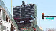 The alderman whose ward includes Wrigley Field said Wednesday that the idea of moving the ballpark's iconic scoreboard and putting in a giant video screen was discussed and dismissed during negotiations over how to pay for renovations at the park.