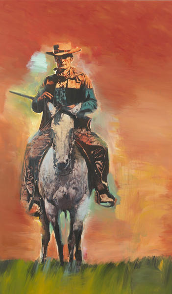 """Untitled (Cowboy),"" 2012 by Richard Prince."