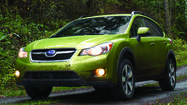 Subaru announced Wednesday it's dipping its toe into the hybrid waters.