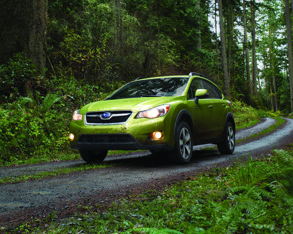 The Subaru Crosstrek Hybrid will debut at the 2013 New York Auto Show. Subaru hasn't disclosed details on the vehicle's powertrain, but did say it's designed in-house as Subaru.