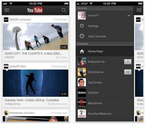 YouTube, which comes preinstalled on Android devices, is a must-download for iPhone users. It makes it easy for users to find videos, check their subscriptions, look for videos based on categories or check out videos they have favorited.