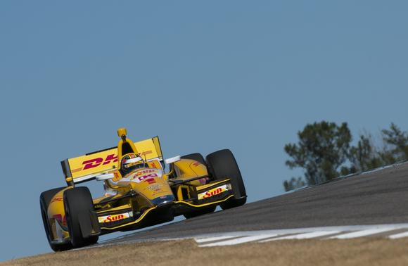 Ryan Hunter-Reay and the No. 28 Andretti Autosport Dallara Chevrolet2013 INDYCAR Testing