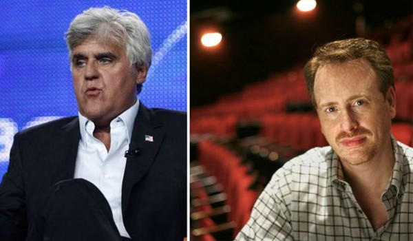 Jay Leno  and Bob Greenblatt