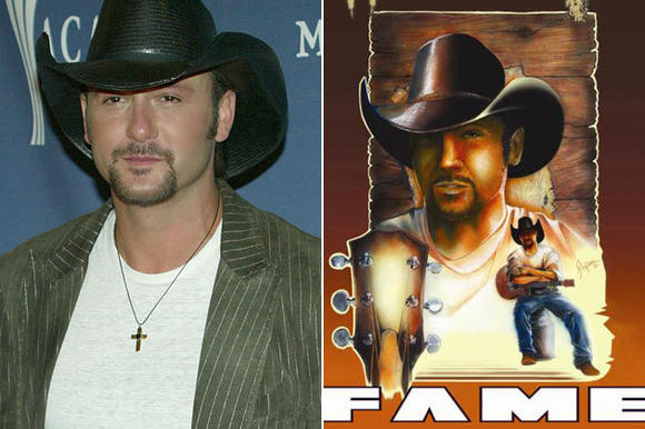 Tim McGraw Gets Animated