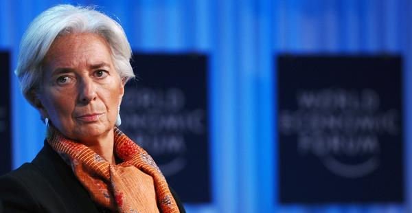 Christine Lagarde, managing director of the International Monetary Fund. French police searched her Paris home Wednesday in connection with a probe of her handling of a high-profile scandal when she was a French government minister.