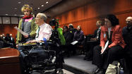 Testifying At Right-To-Die Hearing