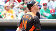 Nolan Reimold homers twice as Orioles beat Blue Jays, 6-5