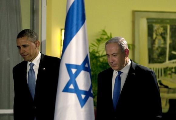 Obama and Netanyahu.