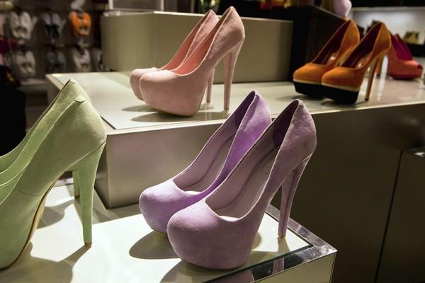 """<b>But it can buy:</b> """"I'd love a good pair of heels. I was in Topshop. They had these suede lilac pumps. They were sooo gorgeous!"""""""