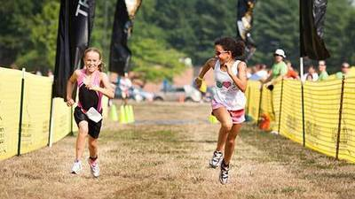 Kid triathlons becoming more popular